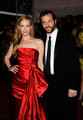 Judd Apatow & Leslie Mann @ 'The Model As Muse: Embodying Fashion' Costume Institute Gala - 2009