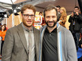Seth Rogen & Judd Apatow @ Monsters Vs. Aliens Premiere - 2009