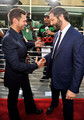 Judd Apatow & Ryan Seacrest @ Funny People Premiere - 2009