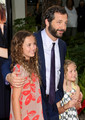 Judd with daughters Maude & Iris Apatow @ Funny People Premiere - 2009