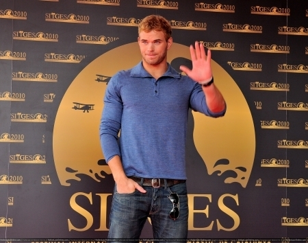 Kellan Lutz at the Sitges Film Festival in Spain 09 October 2010