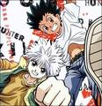Killua  and  Gon - hunter-x-hunter photo