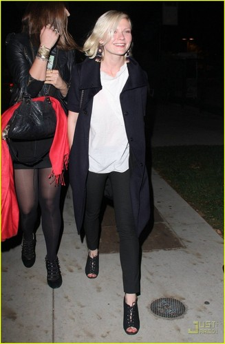 Kirsten Dunst & Jason Boesel: Maroon 5 Match
