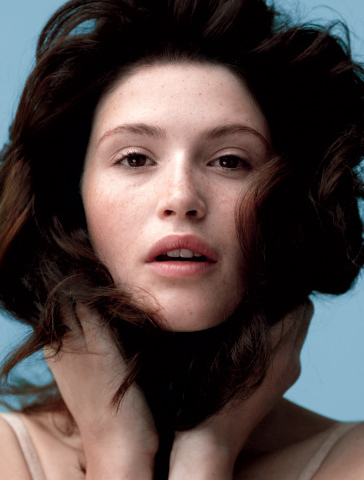 Gemma Arterton वॉलपेपर containing a portrait titled LA Times Magazine [2010]