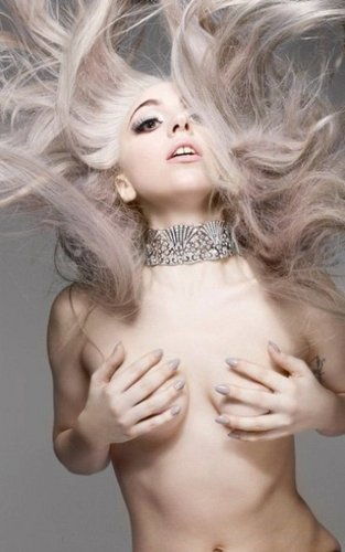 Lady GaGa new Nick Knight pictures