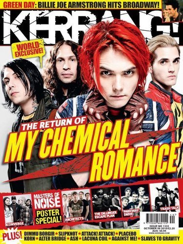 MCR on Kerrang!