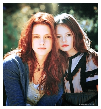 renesmee carlie cullen wallpaper containing a portrait called Mackenzie & Kristen <3