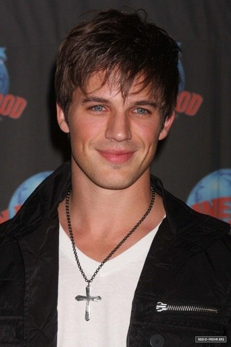 Matt Lanter Visits Planet Hollywood Times Square