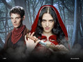 Merlin & Morgana - merlin-on-bbc wallpaper