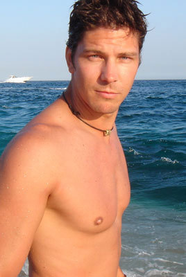 Michael Trucco wallpaper possibly containing swimming trunks and skin entitled Michael Trucco