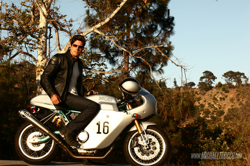 Michael Trucco wallpaper with a motorcycle cop called Michael Trucco