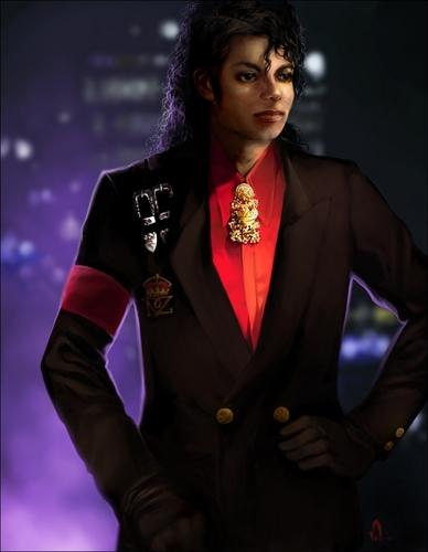 Michael Jackson wallpaper containing a business suit entitled Michael