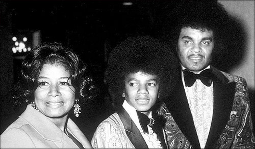 Michael with his mother and father in 1972!