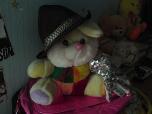 My bunny Michael xD