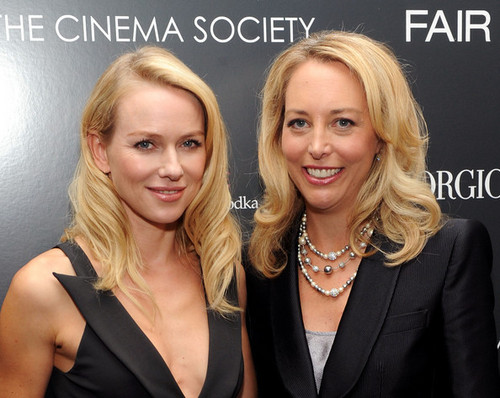 Naomi and Valerie Plame Wilson at NY screening of Fair Game