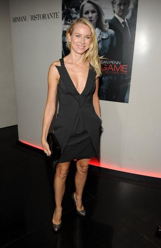 Naomi at NY Screening of Fair Game