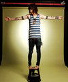 PeekaBoo! guess who? its CHRISTOFER DREW!