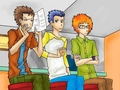 Phil, Tommy and Chuckie Re-rendered from a Scene in All Grown Up
