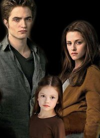 renesmee carlie cullen wallpaper containing a portrait entitled Renesmee, Bella & Edward Cullen