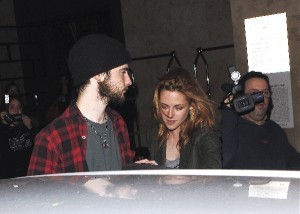 Robert , Kristen and Tom Sturridge.