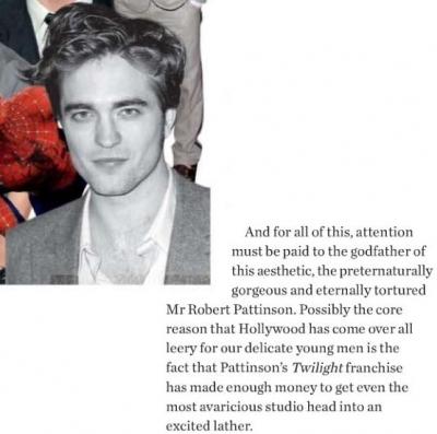 Robert Pattinson - Instyle UK: Super-Heros