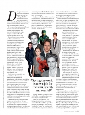 Robert Pattinson fond d'écran probably containing a newspaper and animé titled Robert Pattinson - Instyle UK: Super-Heros