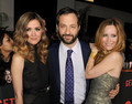 Rose Byrne, Judd Apatow & Leslie Mann @ Get Him to the Greek Premiere - 2010