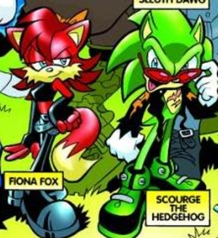 Evil Characters on Evil Sonic Characters Scourge And Fiona