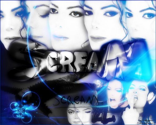 Michael Jackson wallpaper entitled Scream!