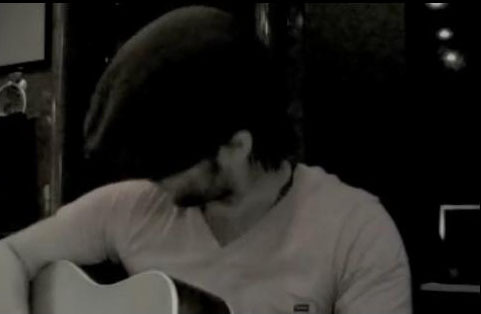 """Screenshots I took of Keith Пение his new song """"Daisy Fields"""" on the tour bus"""