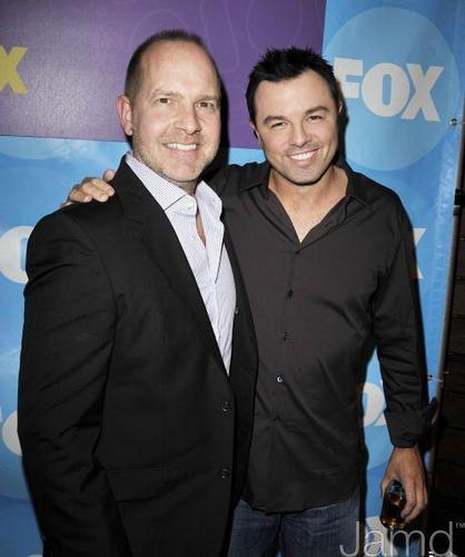 Seth MacFarlane wallpaper with a business suit titled Seth and Mike
