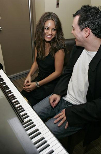 Seth MacFarlane wallpaper containing a pianist called Seth and Mila