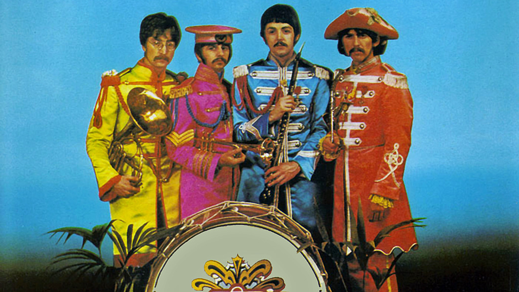 Image result for the beatles sgt pepper images