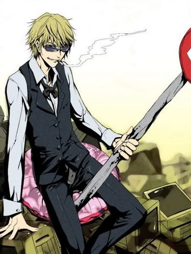 Heiwajima Shizuo wallpaper possibly containing anime called Shizuo Heiwajima