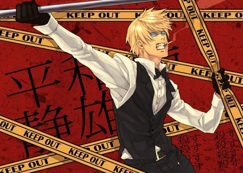 Heiwajima Shizuo wallpaper with anime entitled Shizuo Heiwajima