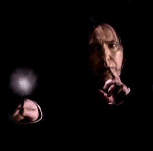 Snape - Shushing in the Dark