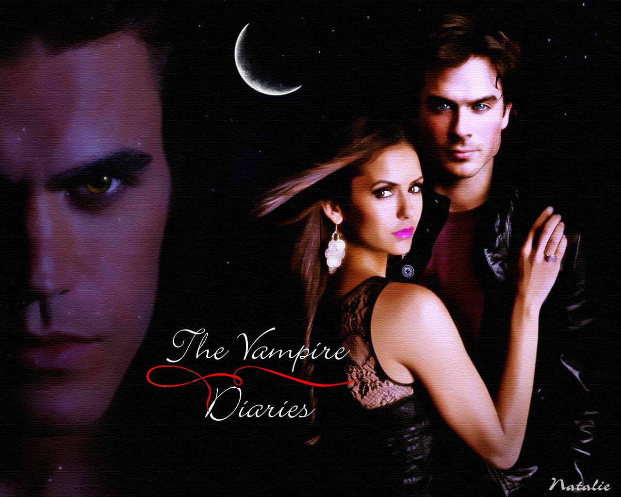 Vampires Diaries Damon Wallpaper Diaries Stefan/elena/damon