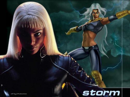 Storm - Sexy Halle Berry