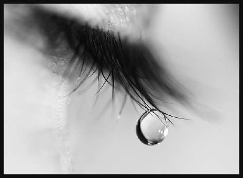 Eyes wallpaper entitled Tears