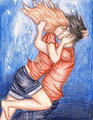 The Best Underwater Kiss Ever - percy-jackson-and-the-olympians-books photo