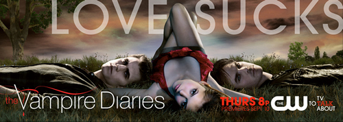 The Vampire Diaries Season 1 Promo Pic प्यार Sucks