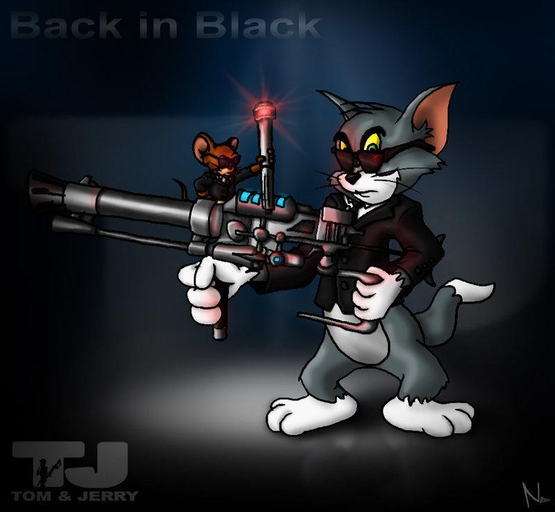 Tom and jerry MIB - Tom and Jerry Fan Art (16198501) - Fanpop