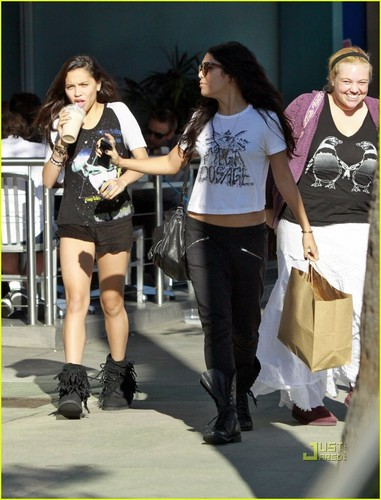 Vanessa & Stella out in Studio City