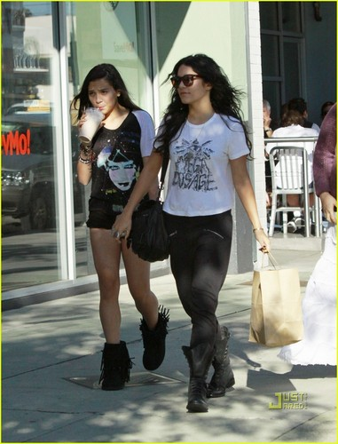 Vanessa & Stella out in Studio City