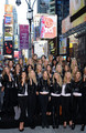 Victoria's Secret Angels - Times Square 2008