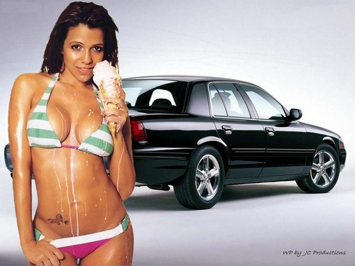 Vida Guerra দেওয়ালপত্র containing a bikini entitled Vida Guerra's Sexy body