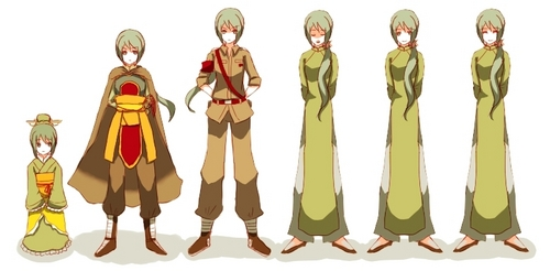 Hetalia wallpaper called Vietnam