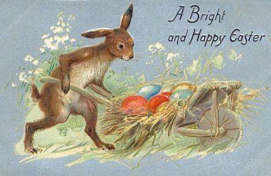 Vintage Bunnies & Easter Cards