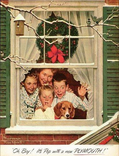 Vintage Рождество Cards