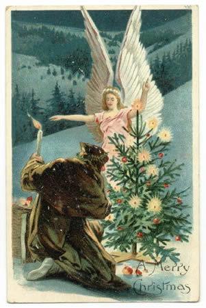 Vintage বড়দিন Cards
